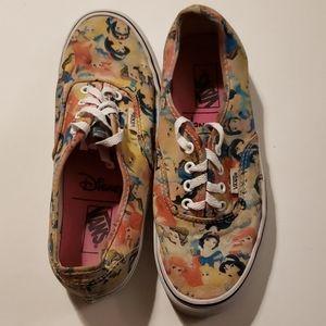 Van's Disney Princess Sneakers size 7.5